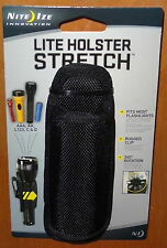 OLIGHT ULTRA FIRE STREAM LIGHT MAG LITE TACTICAL LED FLASHLIGHT HOLSTER POUCH