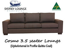 Australian Made Cosmo 3.5 seater / 4 seater Fabric Lounge Couch Sofa