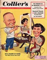 1953 Colliers June 20-Sherlock Holmes;Baseball needs 3 leagues; Piper Laurie