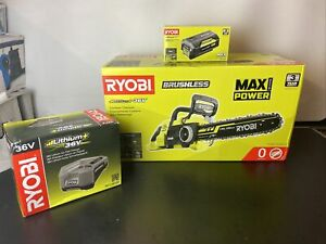 Ryobi Brushless Chainsaw 36V With Battery and Charger
