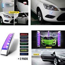 2X LED Warning Light Solar Static Eliminator For Car Body Protector Lights Strip