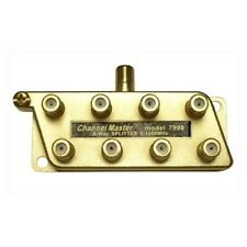 Eagle 8 Way Splitter Coaxial 1 GHz All Port Power Passing 1000 MHz Antenna Coax
