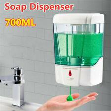 UK Automatic Sensor Soap Dispenser 700ml Liquid Sanitizer Touchless Wall Mounted