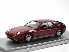 Kess Scale Models 1986 Porsche 928 4-Door Prototype purple metallic 1/43