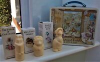 CRABTREE & EVELYN BEATRIX POTTER 1985 TIN LUNCH BOX INCLUDING 3 CHARACTER SOAPS