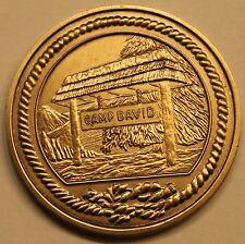 Presidential Retreat Camp David Brass Challenge Coin