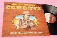 Johnny Cash LP Cowboys Volume Two NM