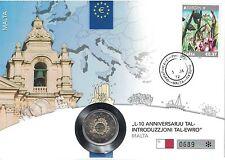 Gelegenheitsausgabe Münzen aus Malta