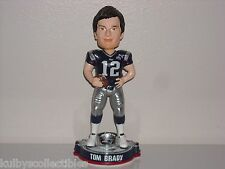 TOM BRADY New England Patriots Bobble Head Super Bowl XLIX Champs Edition BLUE*