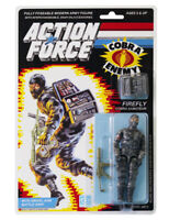 Action Force / GI Joe Firefly Cobra Saboteur MOC Carded Custom