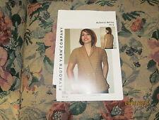 Plymouth Yarn Company Mulberry Merino # 1512 Shawl Collared Vest (36(40,44)