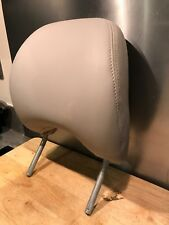 Volvo S80 2001 (51 Reg) Drivers Headrest - Light Grey Leather - Mint Condition