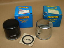 New EMGO Honda 83-84 VT500 Ascot 87-88 VT1100 Shadow Oil Filters Qty of 2