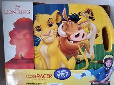 Gomo Disney The Lion King Scoot Racer **BRAND NEW**