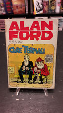 """Alan Ford #17 """"Cure Termali"""" Magnus Bunker 1° ed Corno no adesivi"""