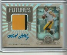 NATE STANLEY 2020 LEGACY FOOTBALL FUTURES PATCH AUTO #d 070/299 VIKINGS FP-NS