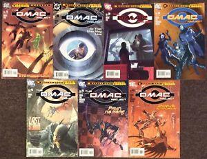 The OMAC project 1 Special,1,2,3,4,5,6 Rucka  DC lot set 2005 Infimite Crisis