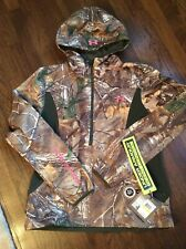 Women's Under Armour Size Medium Storm 1 Camo Hunting Jacket  Scent Control