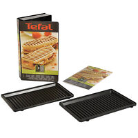 TEFAL Grilled Panini Set Grill Plates Snack Collection Sandwich & Snack Maker