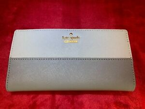 "Kate Spade New York Cameron Street ""Stacey"" Wallet in Two Tone Leather BNWT £98"