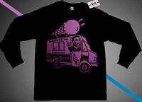NWT Fnly94 Long Sleeve Burr  Ice Cream Truck shirt pink rapper tee