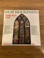 Count Your Blessings - Trinity Boys Choir - Vinyl Record LP