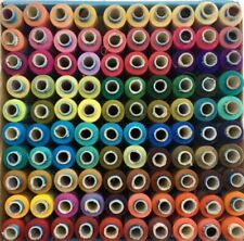 100 in box Polyester Sewing Stitching Thread Spools Vibrant Colors Good Quality