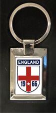 England football 1966 - highly polished metal keyring