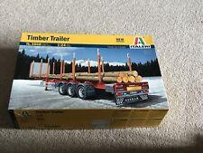 Italeri 3868 Timber Trailer 1 24 Scale Kit