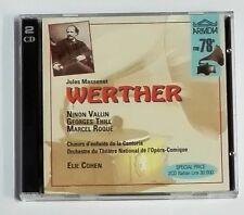42875 CD musicale - Massenet - Werther - Opera-Comique - Arkadia rec 1997