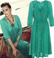 Monsoon Calf Length Boho, Hippie Dresses for Women