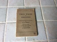 TWO TALES by Tolstoy Bilingual Series Russian-English Translation 1943