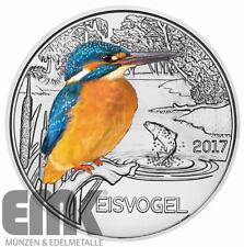 Österreich - 3 Euro 2017 - Tier-Taler-Serie (4.) - Der Eisvogel - Kupfer-Nickel