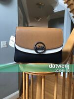 🎁NWT Coach CLRBLK Jade Flap Crossbody F80834 QB/light/saddle multi QBMYC $350+