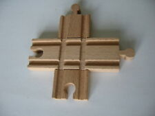 CROSS ROADS POINTS JUNCTION  Wooden Train Track Set  NEW  SEALED ( Thomas )  B11