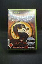 Xbox Classic USK 18 Games | Mortal Kombat Deception