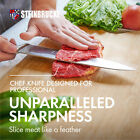8 Inch Chef Knife Kitchen Knife German Stainless Steel Professional Sharp US NEW