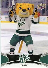16/17 UPPER DECK AHL TEAM MASCOTS #TM9 CRASH IOWA WILD *30848