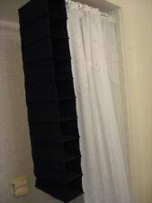 Black 10 slot shoe organizer -Men or Women -new