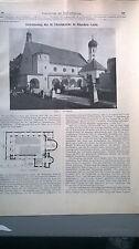 1916 90n Laim Ulrichkirche