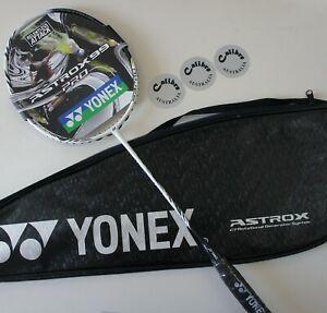 YONEX ASTROX 99 Pro Badminton Racquet AX99P, 4UG5, White Tiger, Choice of String