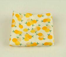 Lemon 100% Cotton Fabric BY HALF YARD fruit lemons yellow digital print ffB339+