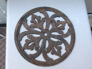 Victorian Cast Iron  Coal Hole Cover Nice Design See Scans