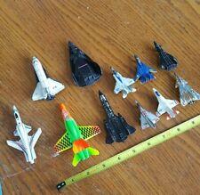 Lot 5 Tootsietoy Toy Mini Jet Airpanes + 5 Dyna-Flites VTG
