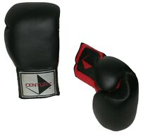 Century Martial Arts 16 oz Boxing Gloves Training Sparring Black Red CG-0605