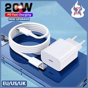 Caricabatterie USB C PD 20W Caricatore Rapido per iPhone 12 Mini 11 Pro Max iPad