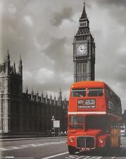 RED BUS CROYDON POSTER (40x50cm) LONDON NEW LICENSED ART