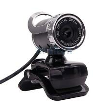 New 360°HD USB 2.0 12.0MP Webcam with Built-in Microphone for PC Desktop US