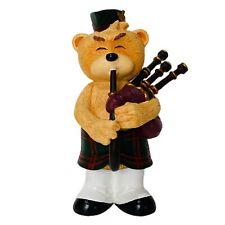 Bad Taste Bears BTB - ANGUS (NIB) Bagpipes Musical Bear (Irish or Scottish)