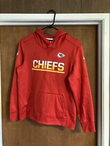 Kansas City Chiefs NFL Size Large Boy's Hooded Sweatshirt Used